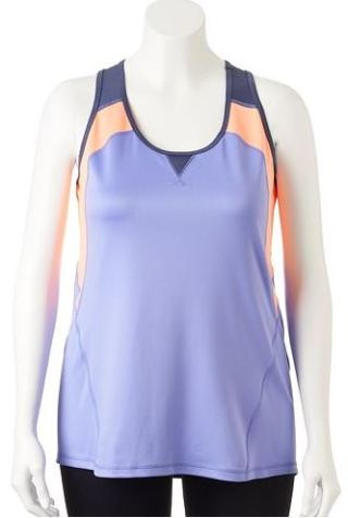 Tek Gear® Colorblock Racerback Yoga Tank